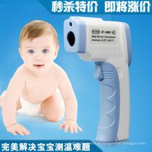 Termômetro eletrônico infravermelho do bebê médico