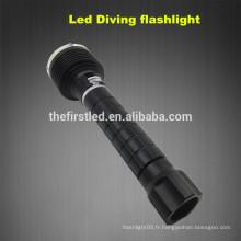 3T6 CREE XM-L2 Lampe à LED Auto-défense Plongée Light Scuba gear