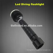3T6 CREE XM-L2 Светодиодная лампа Самооборона Дайвинг Света Подводное снаряжение