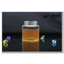 350ml Square Candy Glass Jar Glassware