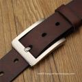 Alloy Nickle Pin Bukle Classic Leather Belt HZ Full Grain Cowhide Men Belt