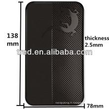 Différents viscosités nouveaux gadgets 2014 accessoires de voiture fabriqués en Chine antidérapant tapis de voiture