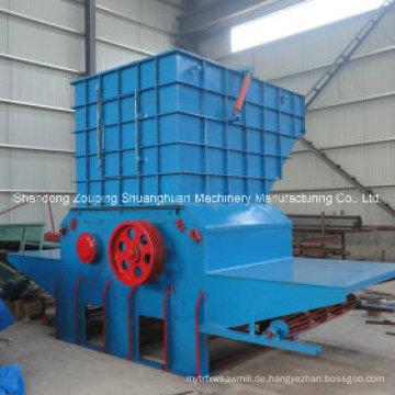Mobile Stump Shredder Diesel Motor Holzhacker Maschine Preis