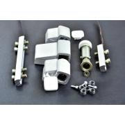 Kleine hardware voor aluminium deur bladert door