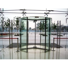 All Glass Revolving Doors with Horizontal Safety