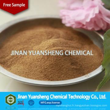 Poudre chimique de contrôle de poussière Lignosulfonate de calcium