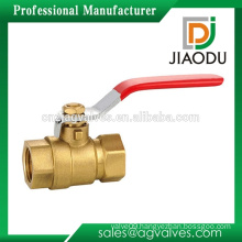 Yuhuan manufacturer customized female threaded two way for water japan brass ball valve manufacturers