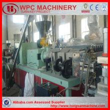 PVC-Profil Extrusion Linie / Holz Kruste buliding Platte Dekoration Auto Platte / PVC Schaum Bord Maschine