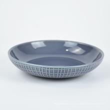 Ensemble de dîner de plaque de vaisselle en céramique colorée de luxe direct d'usine