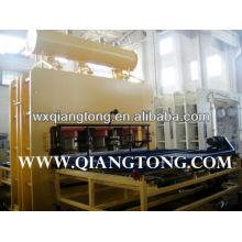 Piso de parquet linha de produção / textura de madeira laminado piso de parquet fazendo machienry
