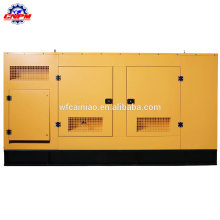 Noise level below 78Db fire protection and rain-proof mute generator set