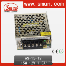 15W 12VDC 1.3A Small Size Single Output Switching Power Supply