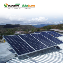 Módulo solar estructura de montaje sistema de montaje solar sistema de montaje solar tierra