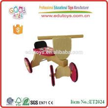 Venta caliente China fábrica de madera 4 ruedas de bicicletas para niños