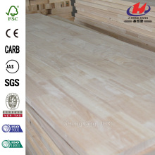 ISO14001 Natural Acacia Finger Joint Panel