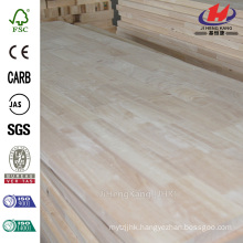96 in x 48 in x 1/3 in Cheap Splice ISO9001 Rubber Wood Butt Joint Board