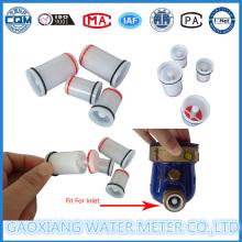 Kunststoff-Rückschlagventil für Wasserdurchflussmesser Dn15-Dn25