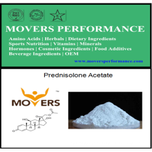 Esteroide fuerte: Polvos anabólicos calientes del acetato de prednisolona