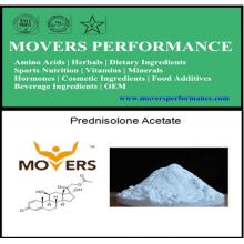 Stéroïde fort: poudres anaboliques chaudes d'acétate de prednisolone