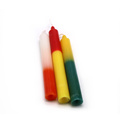 Parafina Palm Wax 2 Doulble Color Chime Velas