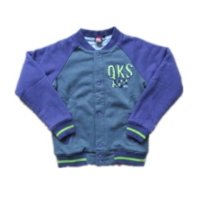 Boys\' Fashion Fleece Jacket with Quilted Jersey Lining