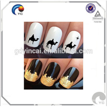 2017 winter new design Christmas decoration nail stickers