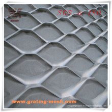 Mesh décoratif / Aluminium / Métal Expandé / Rhombique En Forme Expandée