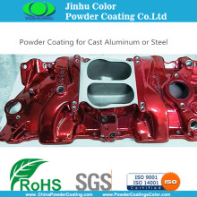 Anti-bubbling Powder Coatings for Aluminum Casting
