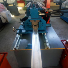 Omega steel profiles stainless steel channel roll forming machine