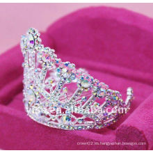 Corona cristalina del desfile de la manera
