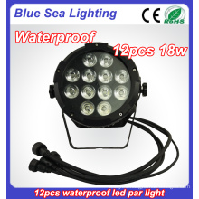 HOT 2016 DMX 12x18w waterproof china wireless led par can