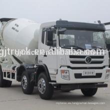 F2000 Shacman 6 * 4 drive camión mezclador de concreto / mezclador de cemento / camión mezclador / mezclador de la bomba / camión mezclador de segunda mano