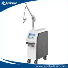 Stand Eo Q-Switch ND YAG Laser zur Entfernung von Tätowierungen und Pigmenten