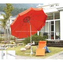 Fibra de vidrio 10rib paraguas al aire libre inclinación estilos
