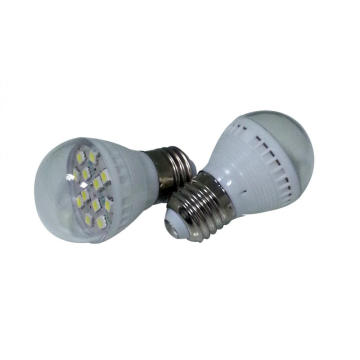 5W global lamp e27 led gloeilamp koel wit