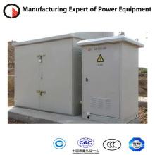 Caixa de distribuição de cabos para alta tensão externa