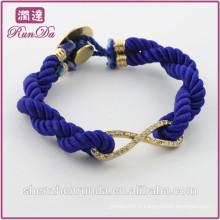 Alibaba nouvelle arrivée à la mode diamant 8 corde bracelet
