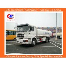 10 Roda 25000 Litros Shacman Transporte de Petróleo Pesado Camião Tanque de Combustível