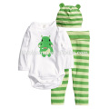 2016 long sleeve 100% cotton animal printed cartoon baby clothes romper