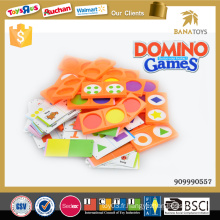 Jouets éducatifs pour jeux de domino pour enfants