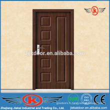 JK-P9042 PVC Porte intérieure en bois / porte intérieure en MDF