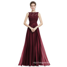 Evening Dresses Gorgeous Formal Lace Long Sexy Red Women Party