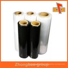 Akzeptieren Sie anpassbare Bestellung in China Fertigung Stretchfolie mit hoher Spannung für Rohstoff-Schutz gemacht