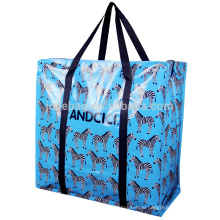 2016 ANDCICI China Wholesale Recycled Laminated PP Woven Bag, zipper shopping bag