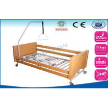 Foldable Electric Nursing Beds For Handicapped / Old Man Me