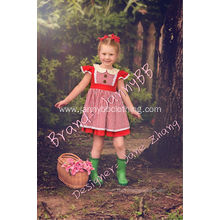 red check cute Easter picnic dress
