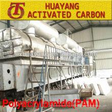 Tratamiento con iones de aguas residuales con turbidez alta 50% de poliacrilamida (PAM)