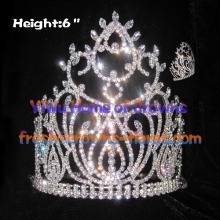 Luxury Clear Diamond National Queen Crowns