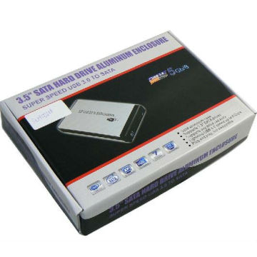 3.5 Inch SATA USB3.0 Hard Drive Enclosure
