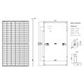 high power generation 17.1%-20.6% LR6-72HPH-365M-385w  LR6-72HPH-365M-410w LR4-72HPH-420M-440w solar panel